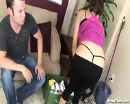 Sex With The Hot Cleaning Lady - scene 3