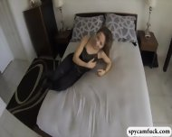 Slutty Latina Fucked And Jizzed On Caught In Spy Cam Glasses - scene 1
