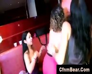 Horny Cfnm Babes Sucking Stripper Cock At A Party - scene 11