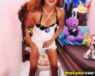 Redhead Shemale Webcam Tube - scene 3