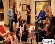 Horny Newbie Couple Soft Swap Scenario Leads Into Orgy - scene 7