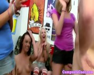 Real College Sluts Are Giving Blowjob - scene 4