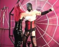 Mistress Melissa Whips Crossdresser Slave - scene 8