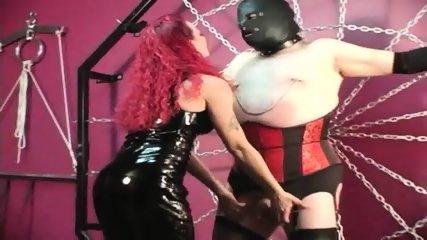 Mistress Melissa Whips Crossdresser Slave - scene 9