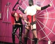 Mistress Melissa Whips Crossdresser Slave - scene 12