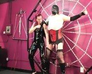 Mistress Melissa Whips Crossdresser Slave - scene 3