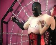 Mistress Melissa Whips Crossdresser Slave - scene 4