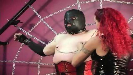 Mistress Melissa Whips Crossdresser Slave - scene 5