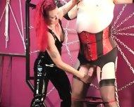 Mistress Melissa Whips Crossdresser Slave - scene 7