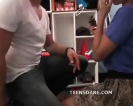 Teen Anniversary Sex Tape Made - scene 5