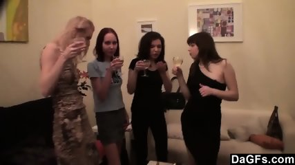 Lesbian Party At My Home - scene 2