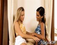 Two Girls Caress Their Gf - scene 1