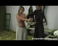 Kink Girl Girl Paddling Fetish - scene 1