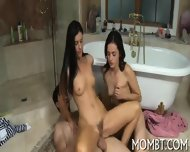 Erotic Threesome Drilling - scene 12