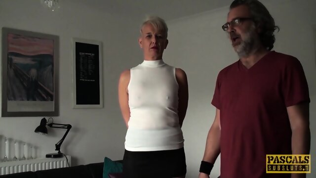 PASCALSSUBSLUTS – Mature Subslut Scarla Swallows Submits