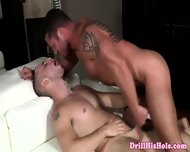 Vicious Gay Stud Gets His Big Dick Ridden - scene 5
