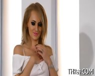 Raucous Hand And Wet Blowjob - scene 5