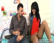 Sizzling Threesome Coitus - scene 3