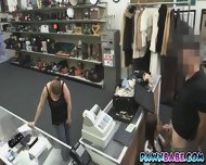 Another Sexy Latina Was Banged In The Pawnshop For Money - scene 2