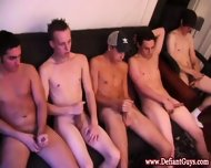 Straight Amateur Twink Gets Some Facials - scene 1