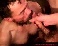 Disgusting Poor Biker Getting Facialized - scene 8