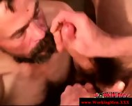 Disgusting Poor Biker Getting Facialized - scene 10