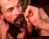 Disgusting Poor Biker Getting Facialized - scene 11