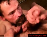 Disgusting Poor Biker Getting Facialized - scene 12