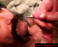 Disgusting Poor Biker Getting Facialized - scene 2