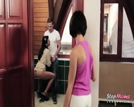 Sexy Stepmom Shalina Levine Threeway With Throbbing Man Meat - scene 4