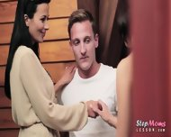 Sexy Stepmom Shalina Levine Threeway With Throbbing Man Meat - scene 5