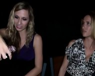 Wild Sluts Tag Teaming Mean Black Dick At A Friends Party - scene 11