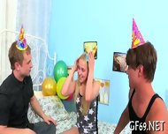 Hot Threesome With Sweet Babe - scene 3