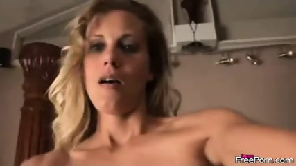 Milf Blows Hard Rod And Gets Jizzed On Her Face - scene 4