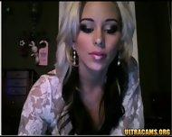 Busty Big Tit Cams Girl Strips - scene 2
