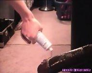Cam Teen Giant Dildo Anal On Live Webcam - scene 11