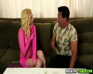 Gloryhole Teen Creamed - scene 1