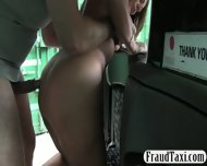 Busty Milf Customer Banged By Fraud Driver For Free Fare - scene 12