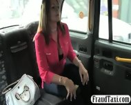 Busty Milf Customer Banged By Fraud Driver For Free Fare - scene 2