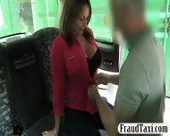 Busty Milf Customer Banged By Fraud Driver For Free Fare - scene 4