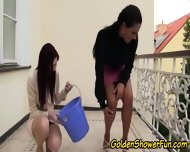 Lesbian Pissers Toy Play - scene 1