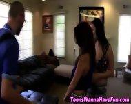 Teen Shoves Tits In Face - scene 11