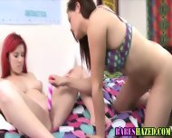 Hazed Teens Pussies Toyed - scene 1