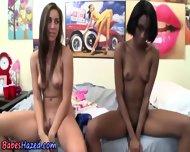 Masturbating Ebony Hazing - scene 8