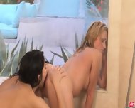 Exclusive Lezz Love In The Shower - scene 8