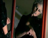 Mysterious Pornstar Masturbates With Dildo - scene 8