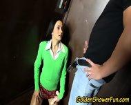 Goldenshower Slut Creamed - scene 4