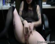 Tat Pornstar Rubs Box Pov - scene 9