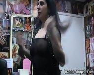 Tat Pornstar Rubs Box Pov - scene 3