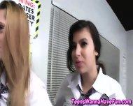 Teen Lesbians Play Games - scene 1